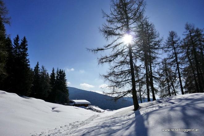 Schneeschuhwandern Meran2000