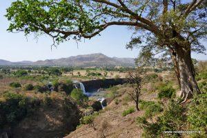 Blauer Nil Wasserfall