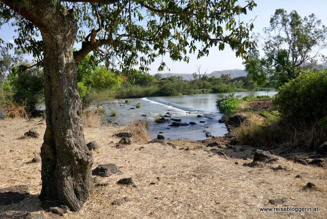 Der Blaue Nil in Äthiopien