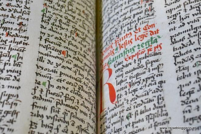 Handschrift in der Österreichischen Nationalbibliothek