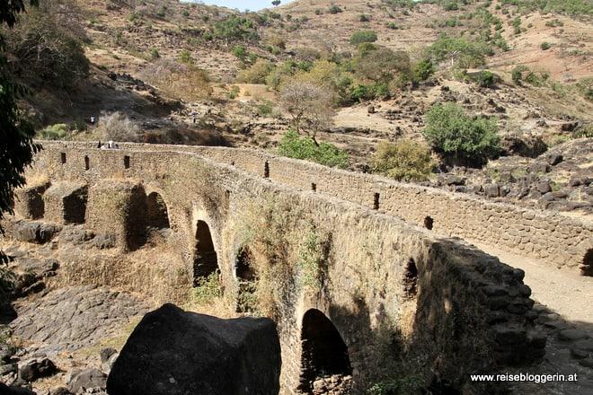Die portugiesische Brücke in Äthiopien