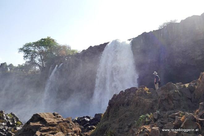 Die Wasserfälle des Blauen Nil