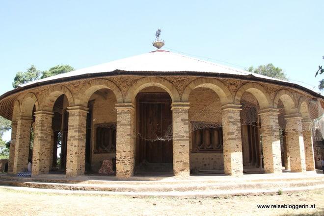 Die Klosterkirche Narga Selassie