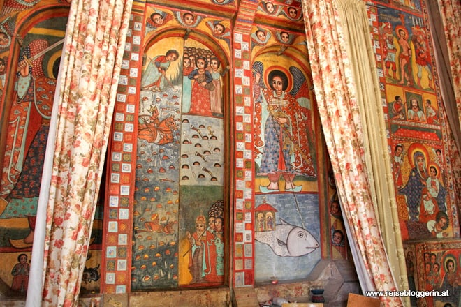Narga Selassie ist eine von vielen Klosterkirchen am Tana-See
