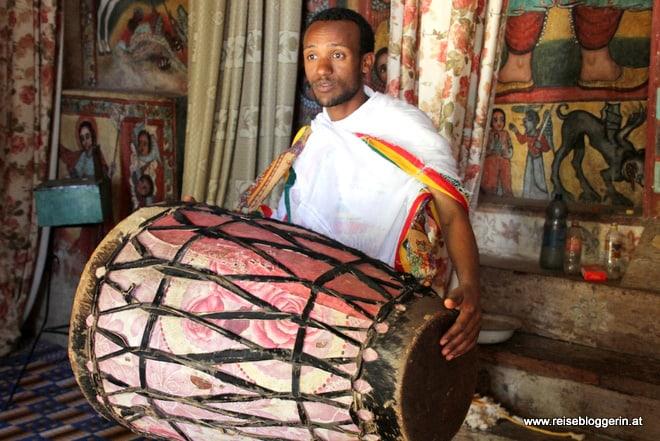 Trommel Äthiopien