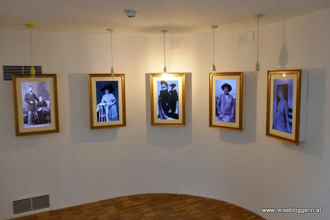 Im Egon Schiele Museum in Tulln
