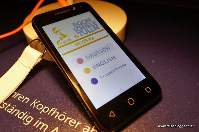 Hörguide im Egon Schiele Museum