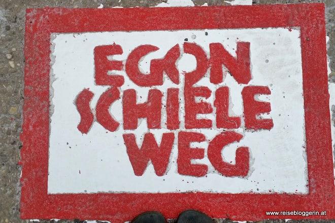 Der Egon Schiele Weg