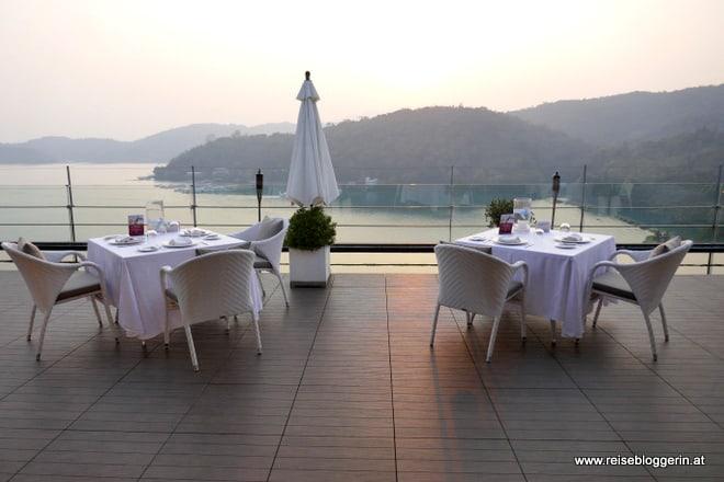 Dachterrasse im Fleur de Chine Hotel