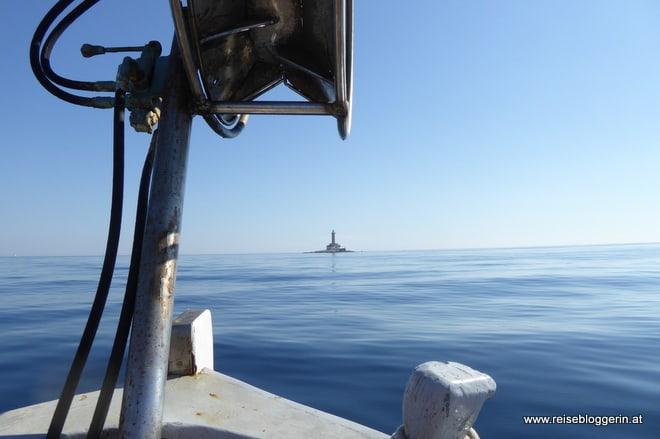 Mit dem Schiff zum Leuchtturm