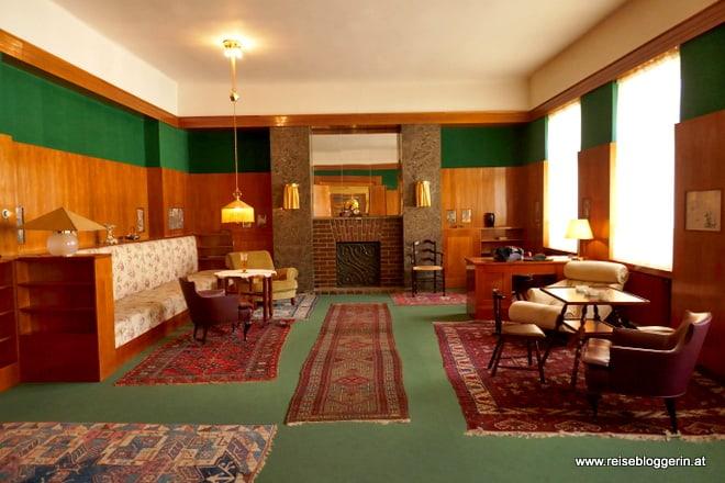 Der Salon der Familie Vogl in Pilsen