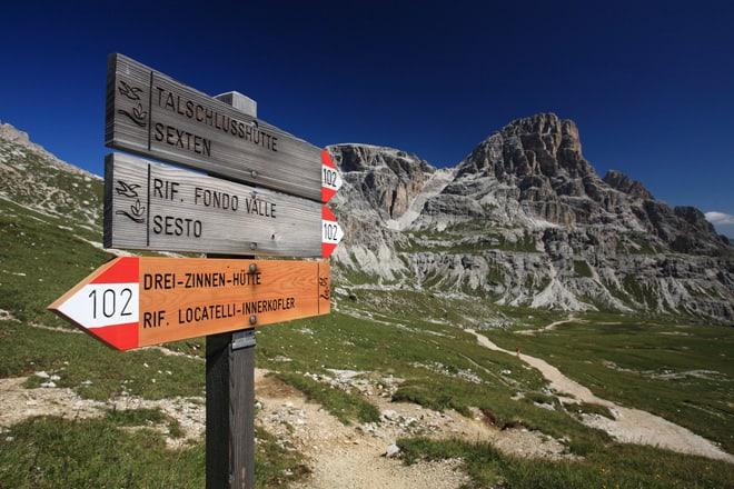 Wanderung in Südtirol