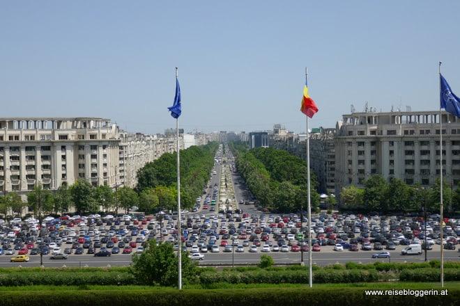 Boulevard der Einheit in Bukarest