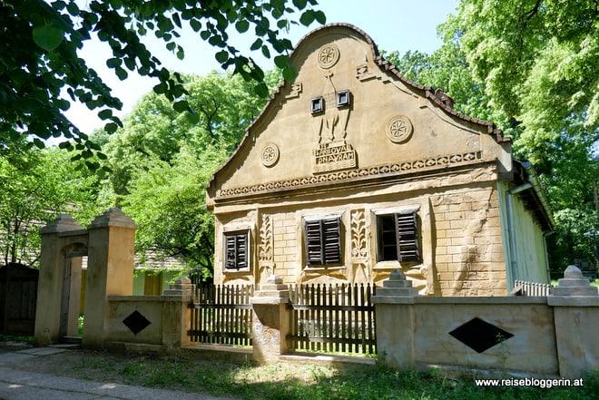 Freilichtmuseum in Bukarest