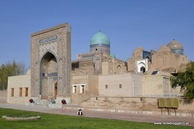 Die Gräberstadt Shah-i Zinda