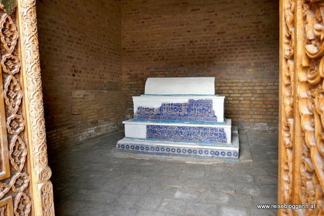 Ein Mausoleum in Shah-i Zinda