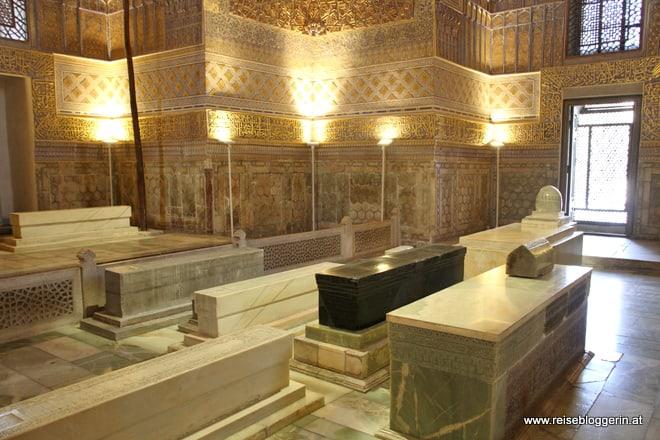Das Mausoleum des Timur Lenk