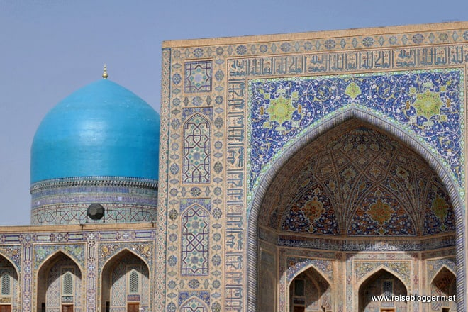 Am Registan in Samarkand