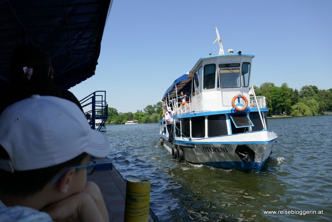 Eine Schifffahrt auf dem Herastrau See