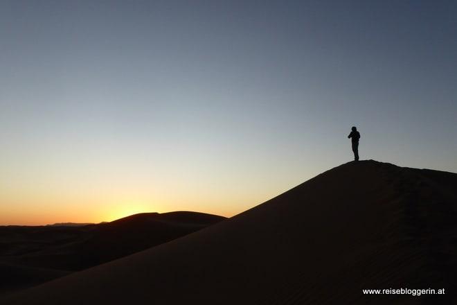 Ein Sonnenaufgang in der Wüste
