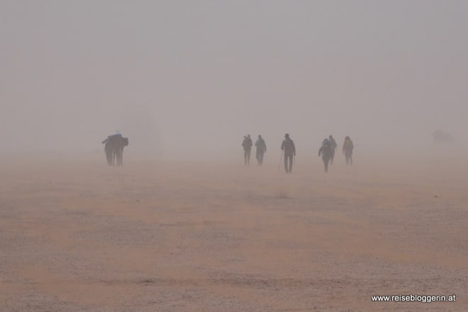 Wüstenwandern in Marokko