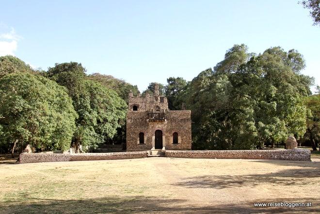 Das Bad des Fasilidas - Das Wasserschloss in Gondar