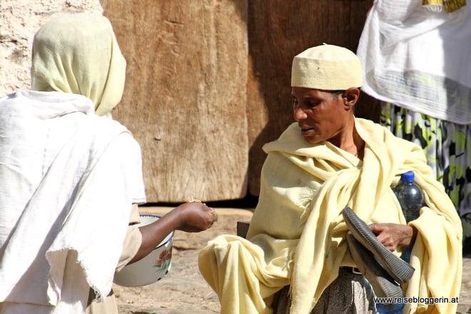 Fastenbrechen in Gondar