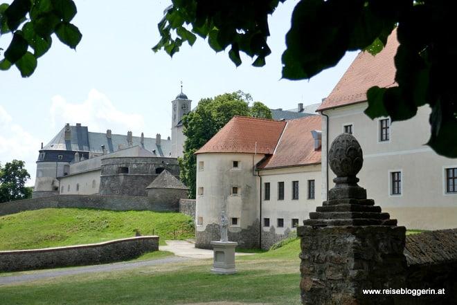 Führung in der Bibersburg in der Slowakei