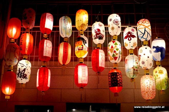 Lampions in Taiwan