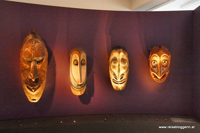 Masken aus Papua-Neuguinea