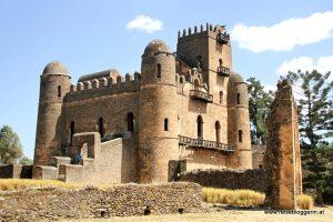 Der Palast des Kaisers Fasilidas in Gondar