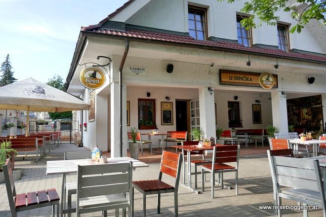 U Srnčíka - ein Restaurant in Devin