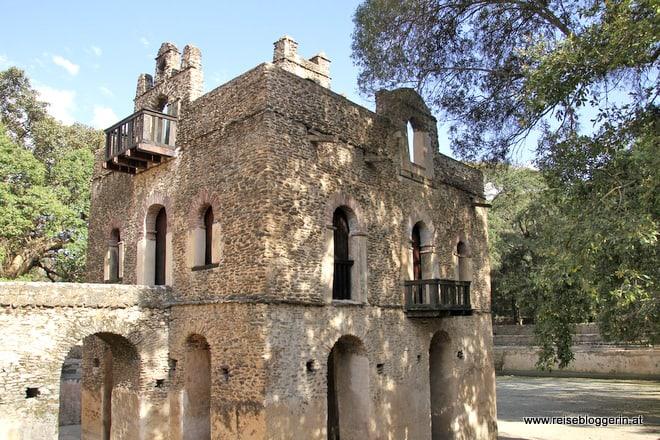 Wasserschloss in Gondar
