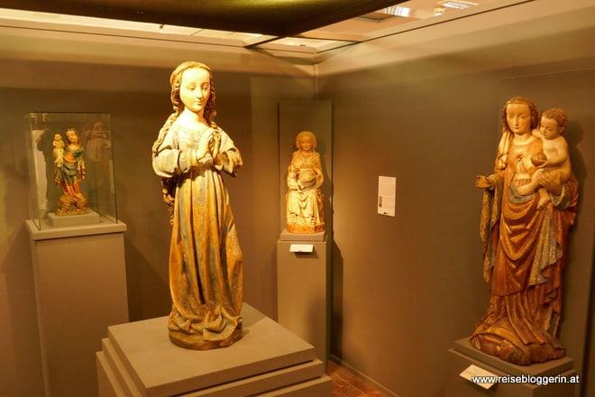 Im Gotikmuseum in Leogang