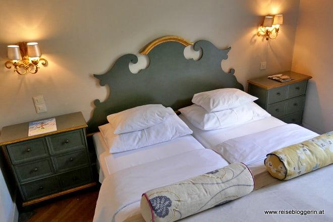 Ein Zimmer im Hotel Das Regina