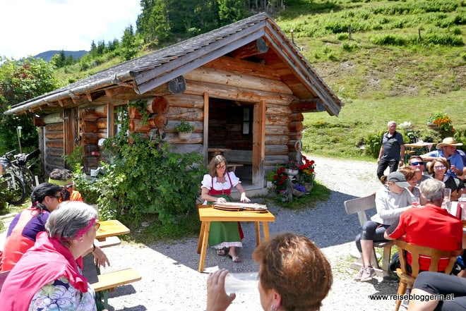 Zithermusik auf der Ögernbauernalm