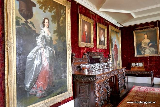 Das Speisezimmer im Dunvegan Castle