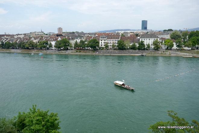 Rheinfähre in Basel