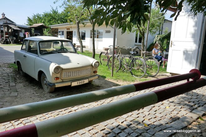 Ein Trabant im Dorfmuseum Mönchhof