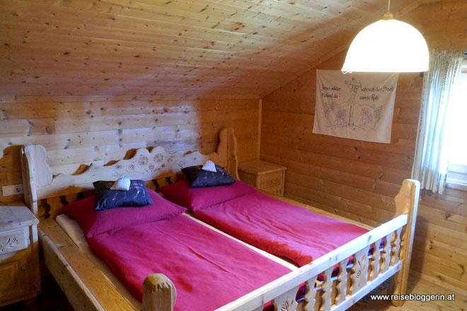 Zimmer auf der Wallmanhütte