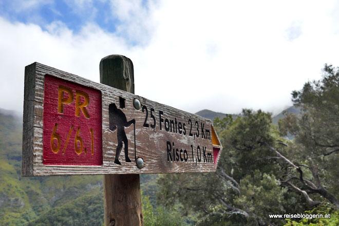 25 Fontes - Wanderung auf Madeira