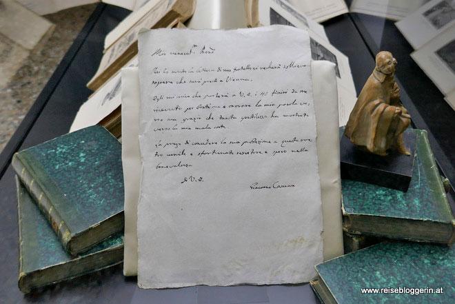 Ein Brief von Casanova