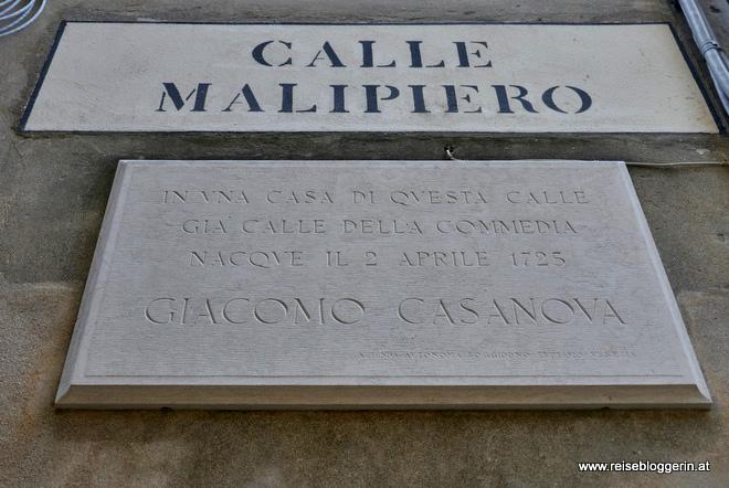 Giacomo Casanova Venedig