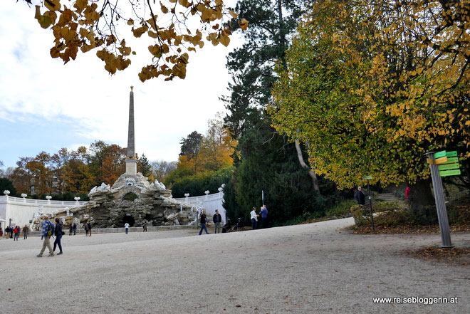 Obeliskbrunnen in Schönbrunn