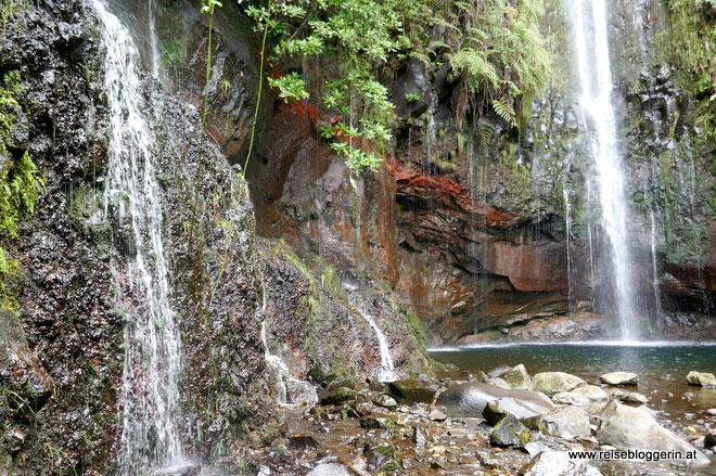 Wanderung zu den 25 Quellen auf Madeira
