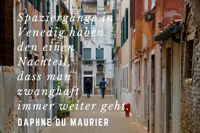 Daphne du Maurier: Zitat über Venedig
