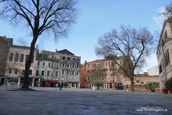 Das jüdische Viertel in Venedig