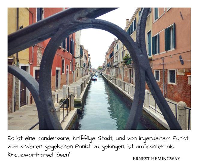 Ernest Hemingway über Venedig
