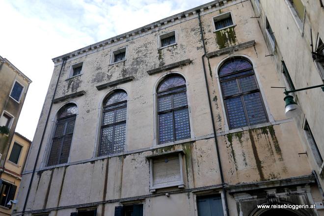 Die Fenster der Spanischen Synagoge