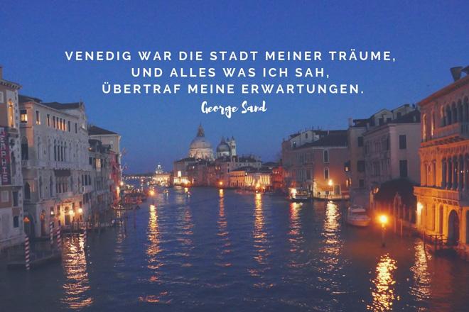 George Sand über Venedig